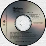 MADONNA 4 Minutes - 2008 US 7-Mix Promo CD (PRO-CDR-510460)