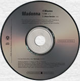 MADONNA - 4 MINUTES - US Promo CD (PRO-CDR-446652)