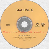 MADONNA Buenos Aires US promo HDCD gold CD-Reference