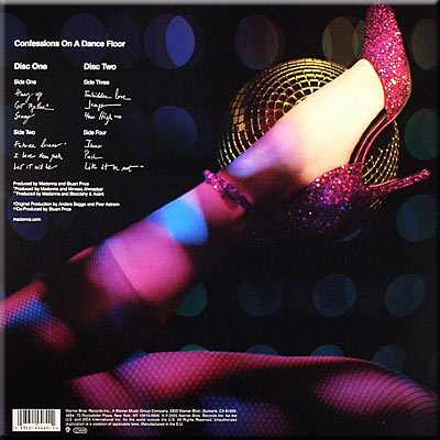 MADONNA - Confessions On A Dance Floor - Limited Edition Pink Vinyl