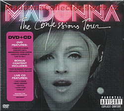 MADONNA Confessions Tour Live From London DVD + CD
