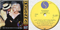 MADONNA I'M BREATHLESS LP Yugoslavia