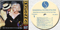 MADONNA I'M BREATHLESS LP Poland
