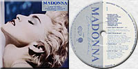 MADONNA True Blue LP Yugoslavia