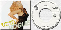 "MADONNA Vogue 7"" single Hungary"