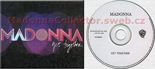 MADONNA Get Together CD-Reference Australia
