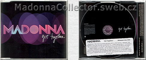 MADONNA Get Together - EU promo CD