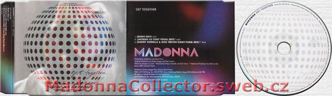 MADONNA Get Together EU Promo CD