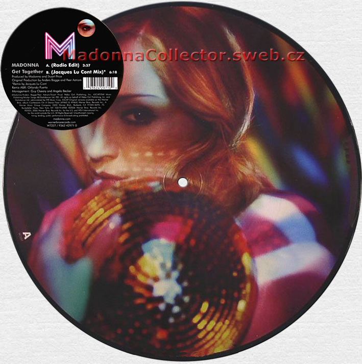 MADONNA Get Together Picture Disc