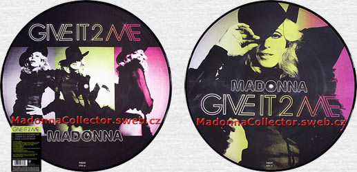 "MADONNA Give It 2 Me - 2008 UK 12"" Picture Disc (W809T / 9362-49838-8)"