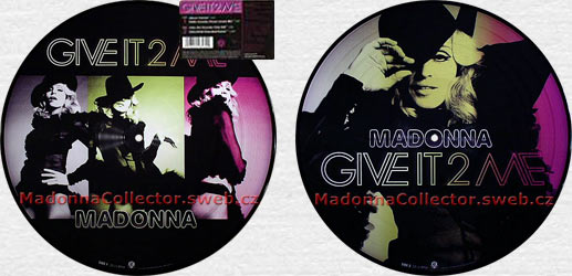 "MADONNA Give It 2 Me - 2008 US 12"" Picture Disc"