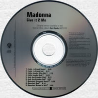 MADONNA Give It 2 Me - 2008 US 9-track Promo CD (PRO-CDR-512777)