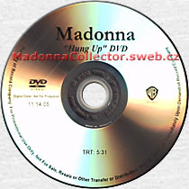 MADONNA Hung Up DVD