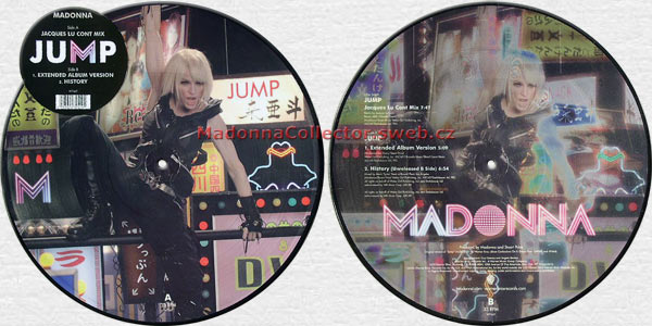MADONNA Jump Picture Disc