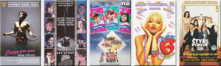 MADONNA Czech VHS Collection from Kristina