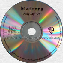 MADONNA Ring My Bell - US In-House Promo CD-Reference
