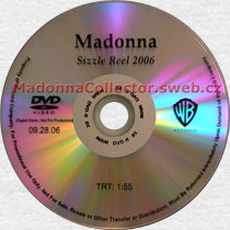 MADONNA Sizzle Reel 2006 - US Promo DVD-Reference