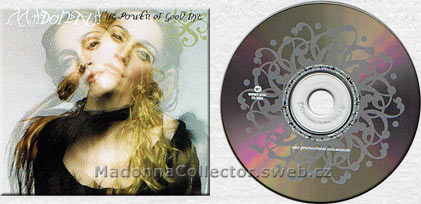 MADONNA The Power Of Good-Bye Columbian Promo CD