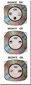 "MADONNA Where's The Party 3"" CD"